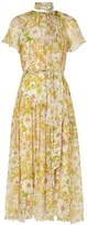 Zimmermann Super Eight Floral-print Silk Midi Dress