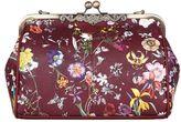 Yumi Faux Leather Floral Shoulder Bag