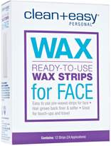 Clean + Easy Facial Wax Strips