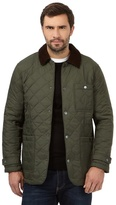 Maine New England Dark Green Quilted Jacket