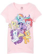 Jerry Leigh Ice Pink My Little Pony Tee