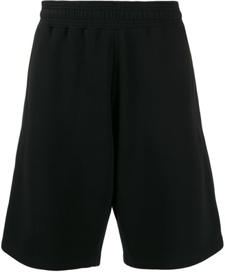 Givenchy Two-Fabric Loose-Fit Running Shorts