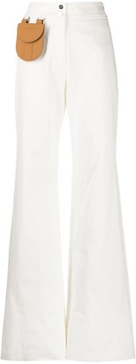 Palm Angels Mini Pocket Palazzo Trousers
