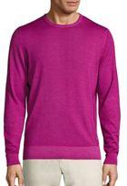Salvatore Ferragamo Ciclamino Knit Cashmere Blend Sweater