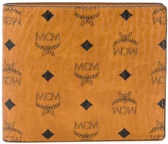 MCM Klassik monogram-print bifold wallet