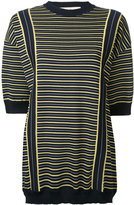 Marni striped knitted sweater