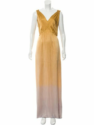 Raquel Allegra Silk Kate Maxi Dress