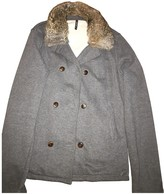 Woolrich Grey Cotton Coats