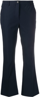 Pt01 Cropped Flared Trousers