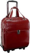 McKlein McKleinUSA Novembre 15.6 Leather Vertical Detachable -Wheeled Laptop Briefcase