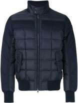 Moncler Aramis padded jacket - men - Feather Down/Polyamide/Wool/Feather - 3