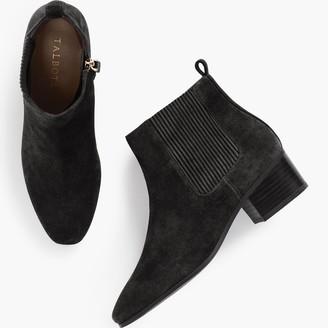 Talbots Dakota Gore Ankle Boots - Nubuck Leather