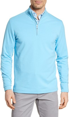 Peter Millar Ace Crown Crafted Quarter Zip Pullover
