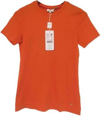 Escada Orange Cotton Top for Women