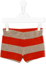 Bobo Choses striped shorts - kids - Cotton/Polyester - 7 yrs