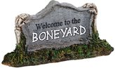 D56 Department 56 Halloween Accessories Village Welcome to The Boneyard Accessory, 0.98-Inch
