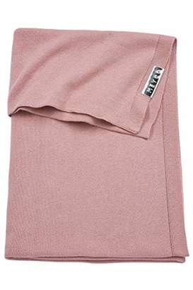 Camilla And Marc Meyco 2753025 Knitted Baby Blanket 100 x 150 cm Dusky Pink