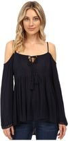 Brigitte Bailey Sidonie Cold Shoulder Top with Crochet Detail