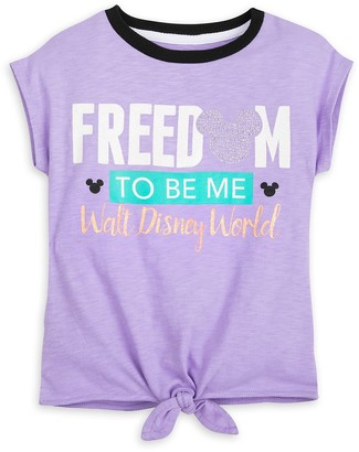 Disney Mickey Mouse Icon ''Freedom to Be Me'' T-Shirt for Kids Walt World