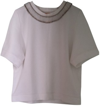 Lutz Huelle White Cotton Knitwear for Women