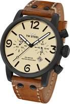 TW Steel Men's MS44 Maverick Analog Display Quartz Brown Watch