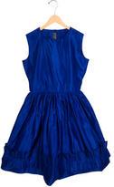 Oscar de la Renta Girls' Silk A-Line Dress w/ Tags