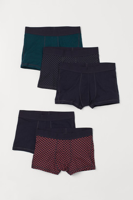 H&M 5-pack Short Boxer Shorts - Blue
