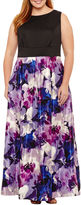 Melrose Sleeveless Evening Gown-Plus