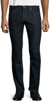 AG Adriano Goldschmied Matchbox Alpha Denim Jeans, Dark Clean