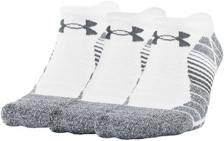 Under Armour Men's 3-pack Elevated Performance No-Show Socks