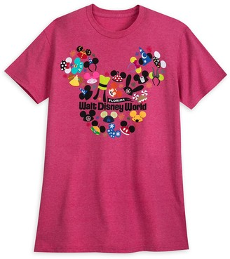 Disney Ear Hat Collage T-Shirt for Adults Walt World