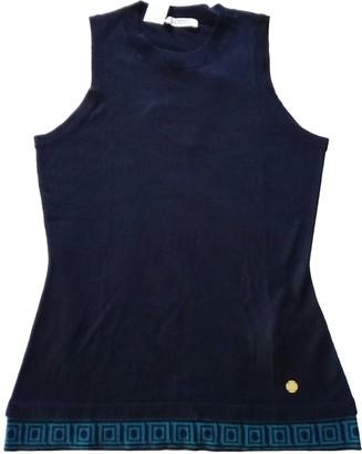 Versace Black Cashmere Tops