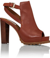 See by Chloé Open Toe Platform Shoe Bootie