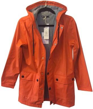 Petit Bateau Orange Coat for Women