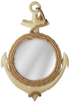 Asstd National Brand Anchor Wall Mirror with Rope Hanger