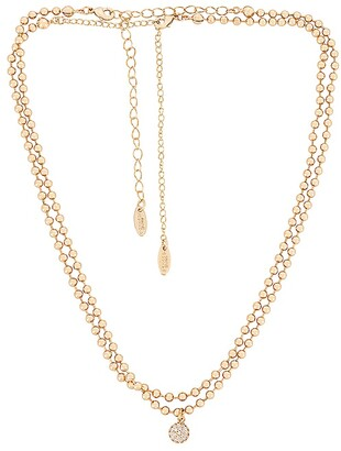 Ettika Ball Necklace with Crystal Ball Accent