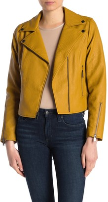 French Connection Faux Leather Jacket