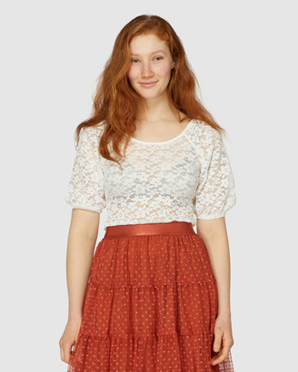 Princess Highway Molly Lace Top
