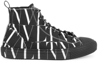 Valentino Giggies High-Top Sneakers