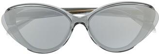 Alexander McQueen Eyewear Cat Eye Sunglasses