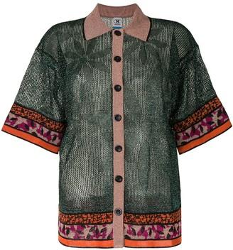 M Missoni Shimmer Button Jacket