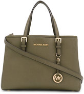 MICHAEL Michael Kors logo tag tote - women - Leather - One Size