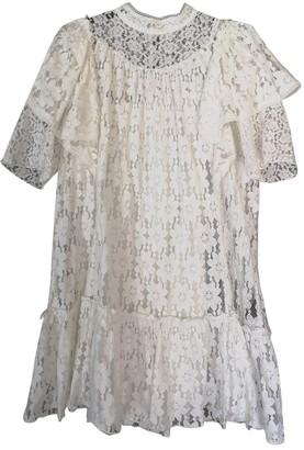 Etoile Isabel Marant White Lace Dresses