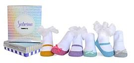 Trumpette Girls' 6-Piece Sabrina Socks Set - Baby