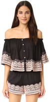 Chloe Oliver Brazillian Night Top
