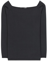 Valentino Knitted Silk-blend Top