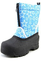 Northside Icicle Youth Round Toe Canvas Blue Winter Boot.