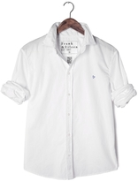 Frank And Eileen Mens Paul Story Of Love Heart Poplin Shirt