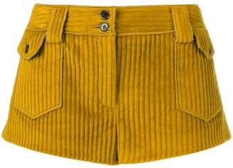 Saint Laurent vintage corduroy micro shorts