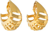Robert Lee Morris Openwork Clip-On Earrings
